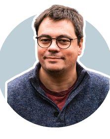 Régis Calcus chef d'atelier informatique